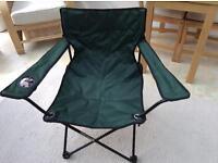 2 X Sturdy Folding Camping/picnic Chairs