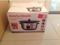Slow cooker - Morphy Richards never used