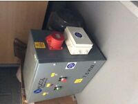 Hucol 7.5kW Single Phase too Three Phase Converter.