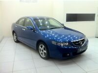 Honda Accord 2.2 i CTDi Executive 4dr Sat Nav-Leathers-12 Month MOT-12 Month Warranty-Full History