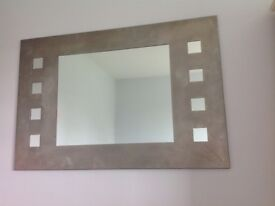 Modern stainless steel mirror for sale.