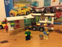 LEGO CITY CAR AND CARAVAN 4335