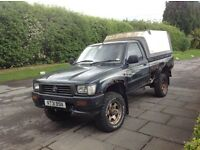 Toyota hilux non turbo 2.4 ideal export