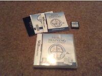 Nintendo DS Brain Training game in box