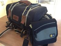 Camera bags Medium and small excellent condition