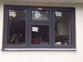 Brand new Origin double glazed aluminium casement window