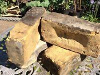 400 good quality, hand selected original London yellow stock bricks