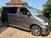 *SOLD* Mazda Bongo 2 Berth Motor Caravan / Campervan 2 litre petrol automatic 2002 5 seats
