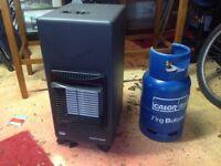 Mini gas heater with bottle ( empty)