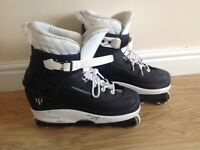 Alchemy Pure Air Aggressive inline skates men's size 10/11 £40.00 cost £110.00 great condition