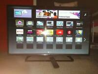 Panasonic 42 inch LED Smart TV with Wi-Fi Apps and Freeview HD