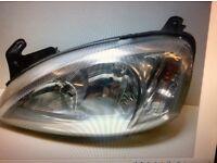 Corsa C headlight
