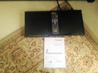 Panasonic Blu-ray Disc (tm) Player Model DMP-BD77. Used once. Bargain now £20 only