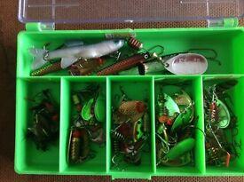 Box Of Fishing Tackle