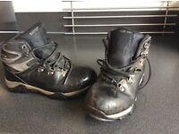 Kids childrens walking hiking boots size 2 waterproof