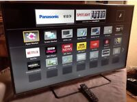 Panasonic 50-inch Smart 3D FULL HD LED TV - 50AS650,built in Wifi,Freeview HD, excellent condition