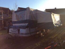 Pennine 2/2 folding camper