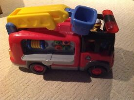 ELC HappyLand Large Fire Engine With Lights, Sounds and Figures
