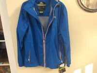 Trespass water and wind proof jacket new