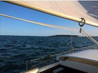 Westerley Yacht Sailing Boat PAGEANT 24ft FOR SALE