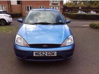 FORD FOCUS 1.6 IN EXCELLENT CONDITION & LOW MILEAGE, 59K MILEAGE AND MOT TILL SEPTEMBER 2017