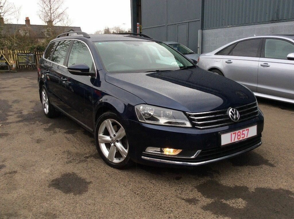 2011 Volkswagen Passat Se Blue Tech 2.0 DSG 140 bhp Estate Full History. FINANCE