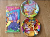 Brand new Winnie the Pooh party ware