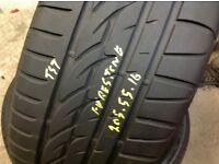 205/55/16 / top brands/ top brands / pressure tested part worn tyres/ barking