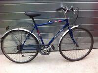 A nice unisex city bike .