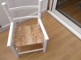 Childs wooden chair as new