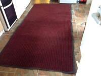 Non slip heavy duty rug
