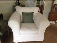 Bed settee and two arm chairs