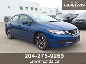 2014 HONDA CIVIC EX - ONE OWNER, LOCAL TRADE, LEASE RETURN!