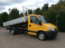 Iveco 3500kg tipper alloy body 2011