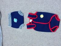 Baby swimming suit and trunks
