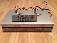 DVD and VCR (VHS) player