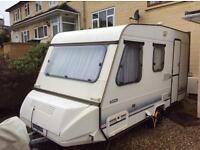 Adria caravan 13ft 4 berth lovely caravan