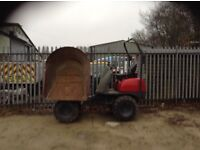 For sale neuson swivel dumper