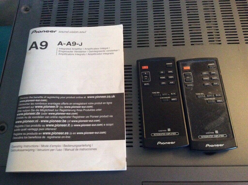 Pioneer a 9 amplifier