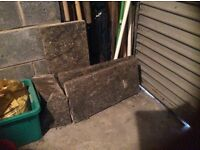 Garage clear out due to moving - Yorkshire stone