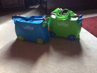 2 x Children's Trunki Suitcases (£15 each)