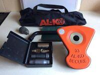 ALKO Al-ko Caravan Wheel Lock Kit No 33. Excellent Used Condition