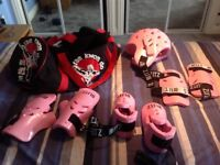 Childs Tae Kwon Do Sparring Gear Set