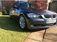 BMW 320D EDITION SE TOURING 2008 FULL S/H STRAMPED, ££££ SPENT SWAP T4 OR T5