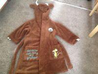 Gruffalo dressing gown, age 2-3