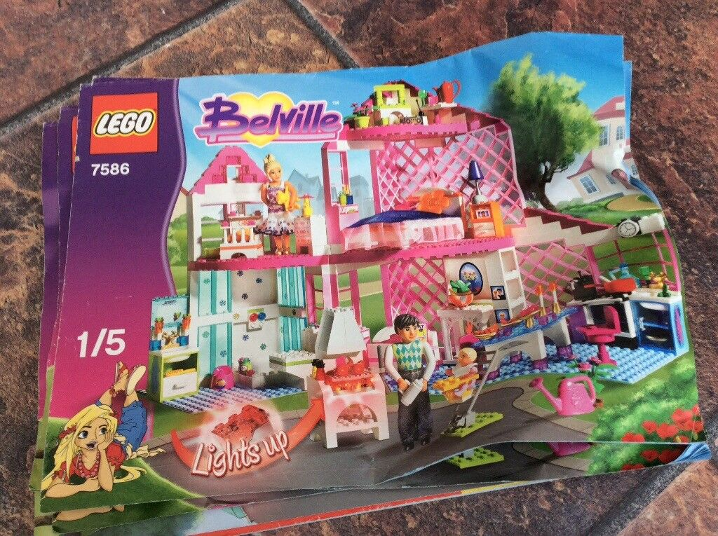 17 sets of Lego friends including instructions great gift