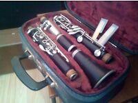 Corton Clarinet and case