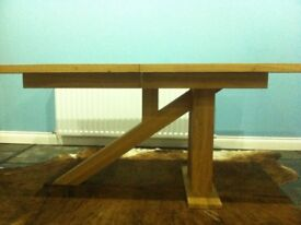 Solid Oak Dining Table
