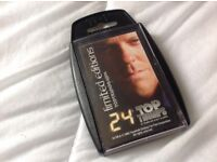 Jack Bauer 24 Top Trumps. Highly collectable and cheaper than eBay