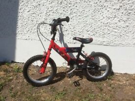 Child's bicycle - power rangers